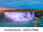 The American Falls And The...