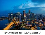 Singapore Business District...