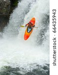 Kayaker Jumping From The...