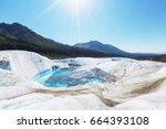 wrangell st. elias national... | Shutterstock . vector #664393108