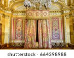 the famous palace of versailles ... | Shutterstock . vector #664398988