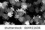 abstract water ripple... | Shutterstock . vector #664411636