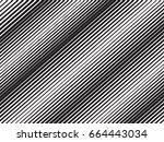 stripes pattern. diagonal lines | Shutterstock .eps vector #664443034