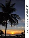 Perfect Caribbean Sunset