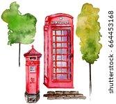 Watercolor London Illustration...