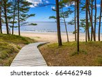 Coastal landscape in famous...