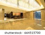 hotel lobby interior | Shutterstock . vector #664515700