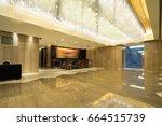 hotel lobby interior | Shutterstock . vector #664515739