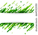 green abstract background on...