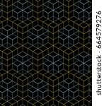 color linear mesh pattern on a... | Shutterstock . vector #664579276
