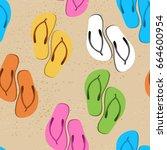 slates pattern. cartoon...   Shutterstock .eps vector #664600954