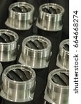 metal industry  a factory in... | Shutterstock . vector #664668274