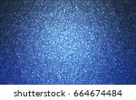 dark blue vector christmas... | Shutterstock .eps vector #664674484