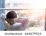 good life and easy relax...   Shutterstock . vector #664679314