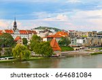slovenia  maribor   july 18 ... | Shutterstock . vector #664681084