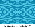 water background. blue... | Shutterstock .eps vector #664684969