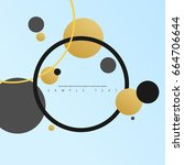 abstract template with clean... | Shutterstock .eps vector #664706644