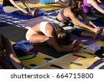 tel aviv  israel  june  21 ... | Shutterstock . vector #664715800