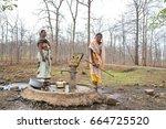 amravati  maharashtra  india ... | Shutterstock . vector #664725520