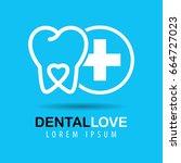 dental clinics logo | Shutterstock .eps vector #664727023