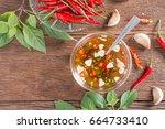 Set Of Chili Sliced And Garlic...