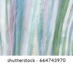 decorative colorful cement wall ... | Shutterstock . vector #664743970