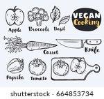 vector illustration of... | Shutterstock .eps vector #664853734