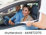 car sale  | Shutterstock . vector #664872370