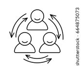 business people related vector... | Shutterstock .eps vector #664875073