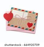 vector illustration of love...   Shutterstock .eps vector #664920709