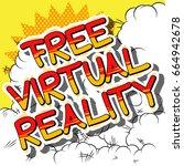 free virtual reality   comic...