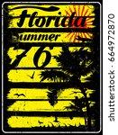summer beach vector background...   Shutterstock .eps vector #664972870