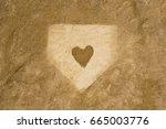 Home Plate Love Baseball