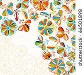 floral background  jpg   Shutterstock . vector #66501898