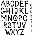 The Letters Of The Alphabet....