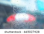 background with car window... | Shutterstock . vector #665027428