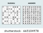 vector sudoku with answer 65....