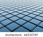 Blue Cubes Reflective Business...