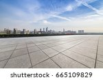 panoramic skyline and buildings ... | Shutterstock . vector #665109829