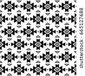 tribal pattern  aztec seamless...   Shutterstock .eps vector #665127688