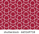 abstract geometric pattern with ... | Shutterstock . vector #665169718