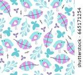 seamless summer pattern. vector ...