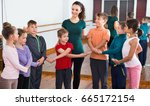 little  cheerful positive boys... | Shutterstock . vector #665172154