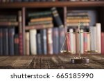 justice. | Shutterstock . vector #665185990