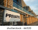 sign  private  x2  | Shutterstock . vector #66520
