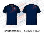 t shirt polo design | Shutterstock .eps vector #665214460