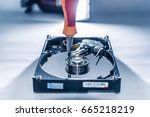 the abstract image of the...   Shutterstock . vector #665218219