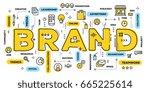vector creative illustration of ... | Shutterstock .eps vector #665225614