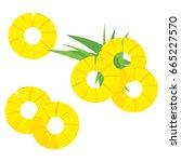 vector illustration green...   Shutterstock .eps vector #665227570