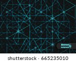 abstract background with...   Shutterstock .eps vector #665235010